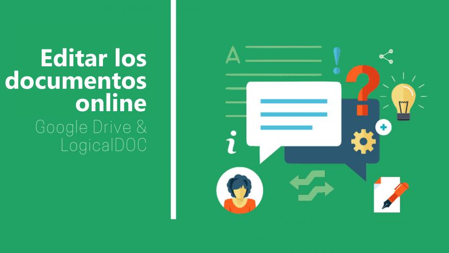 Editar los documentos online